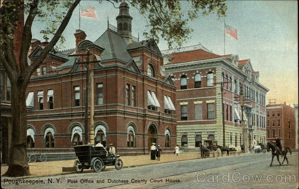 Post Office and Dutchess County Court House Poughkeepsie New York