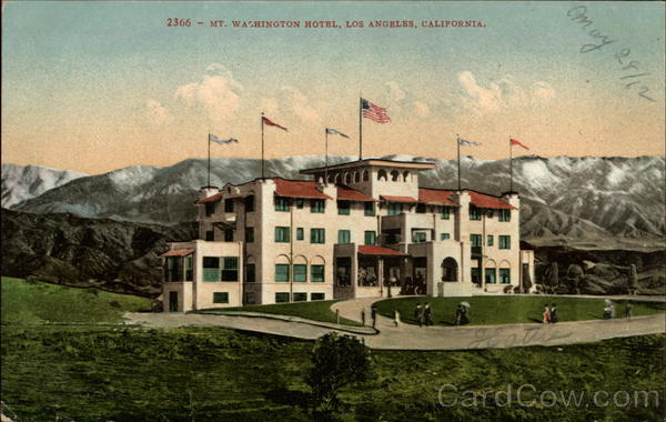 Mt. Washington Hotel Los Angeles California