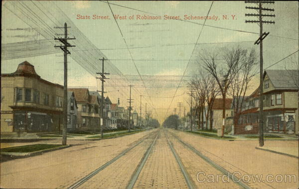 State Street, west of Robinson Street Schenectady New York