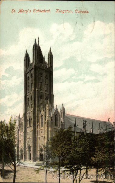 St. Mary's Cathedral Kingston Canada Ontario