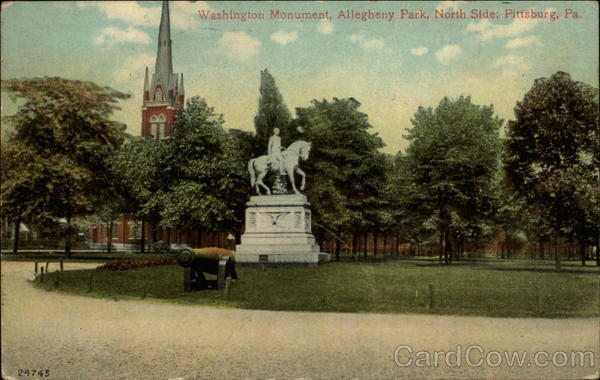 Washington Monument, Allegheny Park, North Side Pittsburgh Pennsylvania