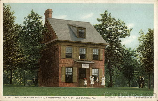 William Penn House, Fairmount Park Philadelphia Pennsylvania