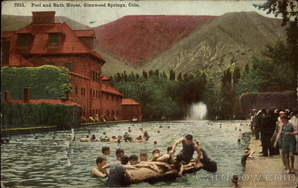 Pool and Bath House Glenwood Springs Colorado