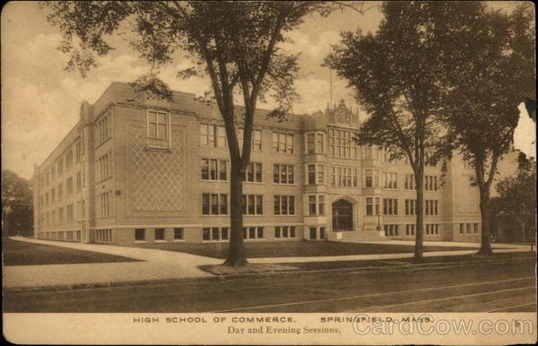 High School of Commerce Springfield Massachusetts