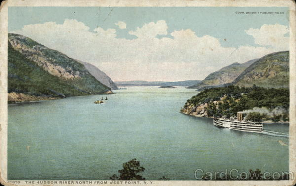 The Hudson River from West Point New York
