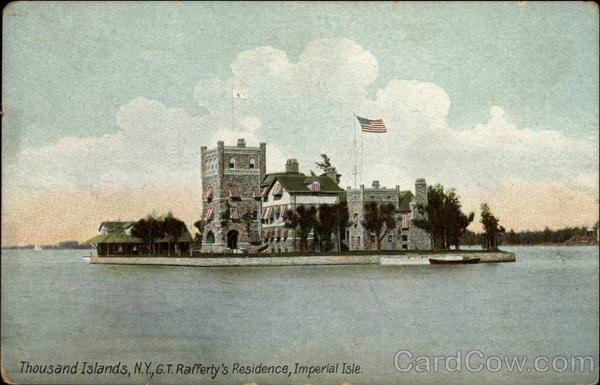 G.T. Rafferty's Residence, Imperial Isle Thousand Islands New York