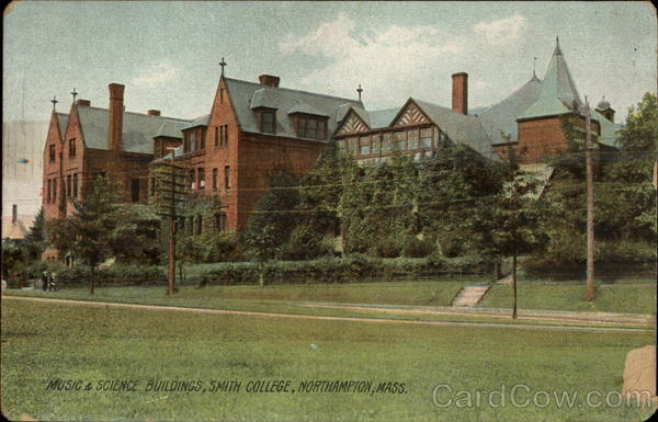Music & Sience Buildings, Smith College Northampton Massachusetts