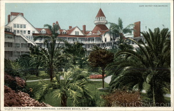 The Court, Hotel Coronado San Diego California