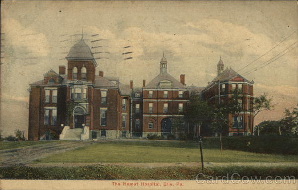 The Hamot Hospital Erie Pennsylvania