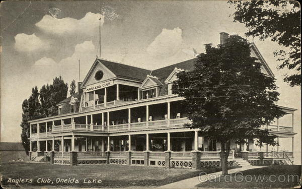 Anglers Club Oneida Lake New York