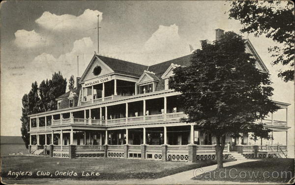 Anglers Club, Oneida Lake New York