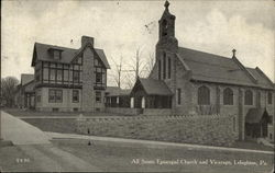 All Saints Episcopal Church and Vicarage