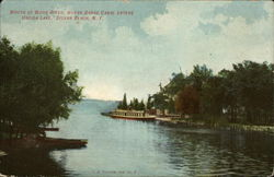 Mouth of Wood River, where Barge Canal enters Oneida Lake