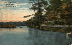 View on the Lake: Slater Park