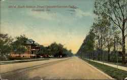 South Hohman Street, Opposite Harrison Park Postcard