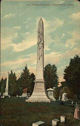 Lew Wallace Monument Postcard