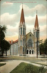 Meridian M.E. Church Postcard
