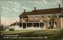 The Old Johnstown Jail, built by Sir William Johnson 1763