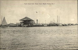 Yacht Club from Water Front