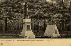 Morehead Monuments - Guilford Battle Ground
