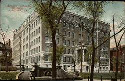 Allegheny General Hospital Postcard