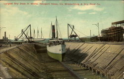 Largest Dry Dock in World