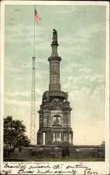 Soldiers Monument Postcard
