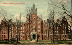 Harper Hospital Postcard