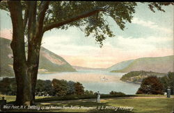 Looking up the Hudson from Battle Monument, U.S. Military Academy