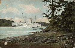 Steamer Ransom B. Fuller, Head of Swan Island