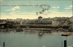 Waterfront, showing Great Northern Depot