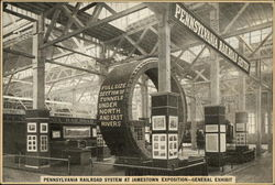 Pennsylvania Railroad System at Jamestown Exposition - General Exhibit