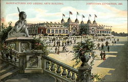 Manufactures and Liberal Arts Building, Jamestown Exposition, 1907