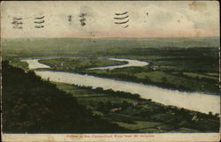 Oxbow in the Connecticut River from Mt. Holyoke