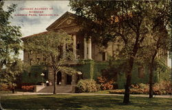 Chicago Academy of Sciences, Lincoln Park Postcard