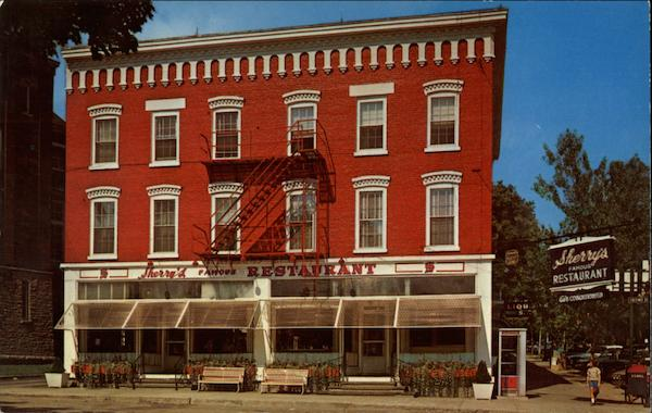 Sherry's Famous Restaurant Cooperstown New York Peter L. Hollis