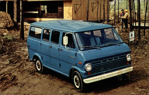 1970 Ford Econoline Van Trucks