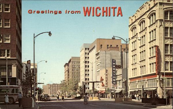 View Of Downtown Wichita Ks