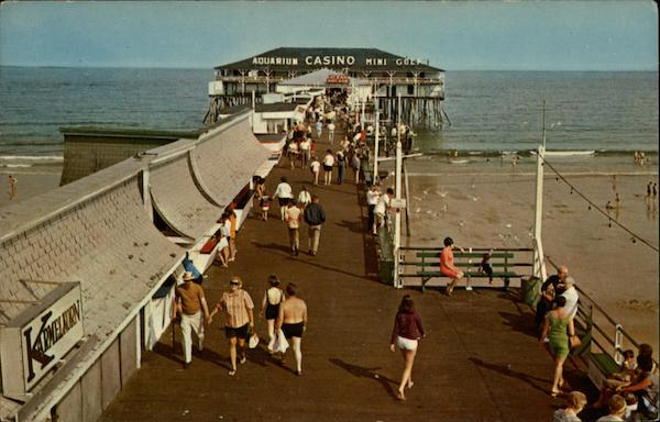 Pier at Old Orchard Beach Maine