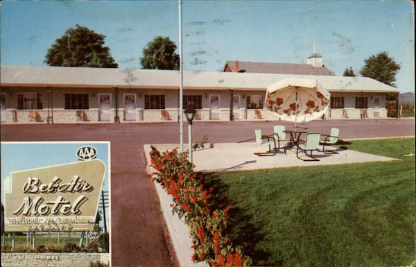 Bel-Air Motel Bristol Virginia