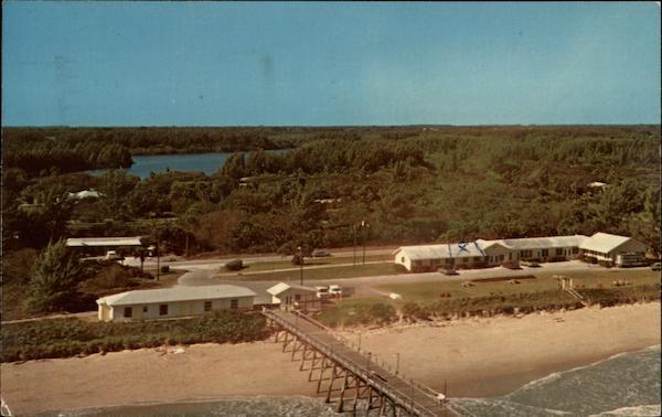 ocean fishing pier and motel vero beach fl