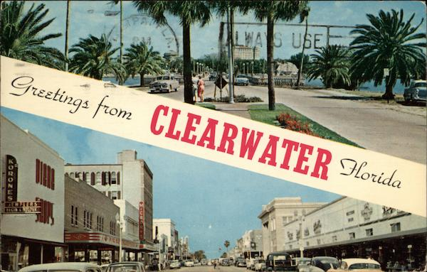 Memorial Causeway to the Beaches, and Cleveland Street Clearwater Florida