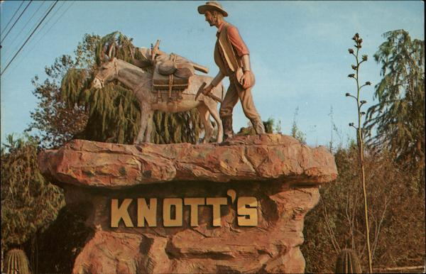 Knott's Berry Farm and Ghost Town Buena Park California