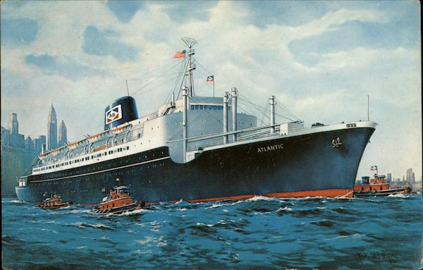 SS Atlantic American Banner Lines Inc Cruise Ships