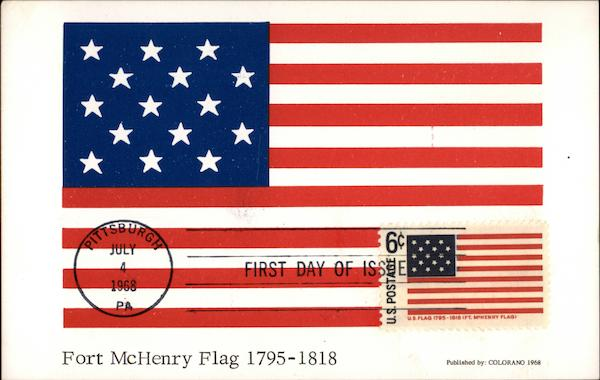 Fort McHenry Flat 1795-1818 Patriotic