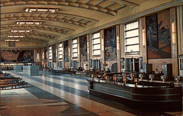 Concourse Union Terminal Cincinnati Ohio
