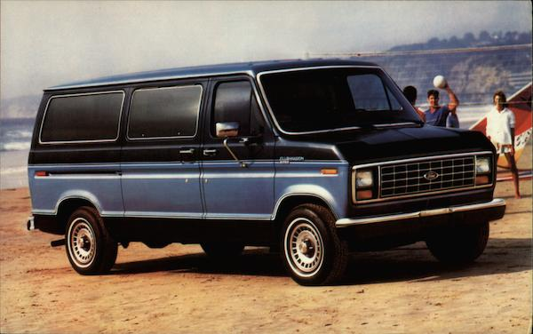 1986 Ford Club Wagon Trucks