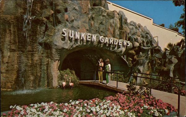 Sunken Gardens St Petersburg Fl