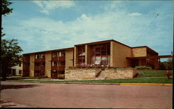 New Residence Hall for Men, Southwestern College Postcard