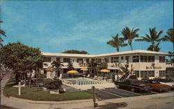 Santa Barbara Apartments Postcard